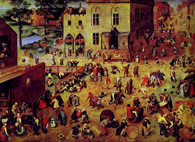 Pieter Breugel the Elder's Children's Games